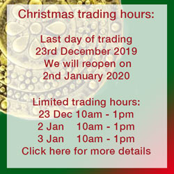 Click here to see our Christmas trading hours