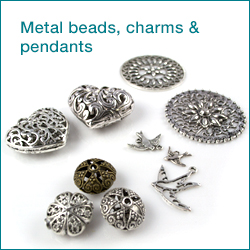 Click here to shop metal beads, charms and pendants