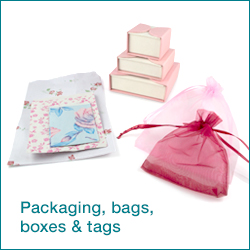 Click here to shop packaging, bags, jewellery boxes and tags